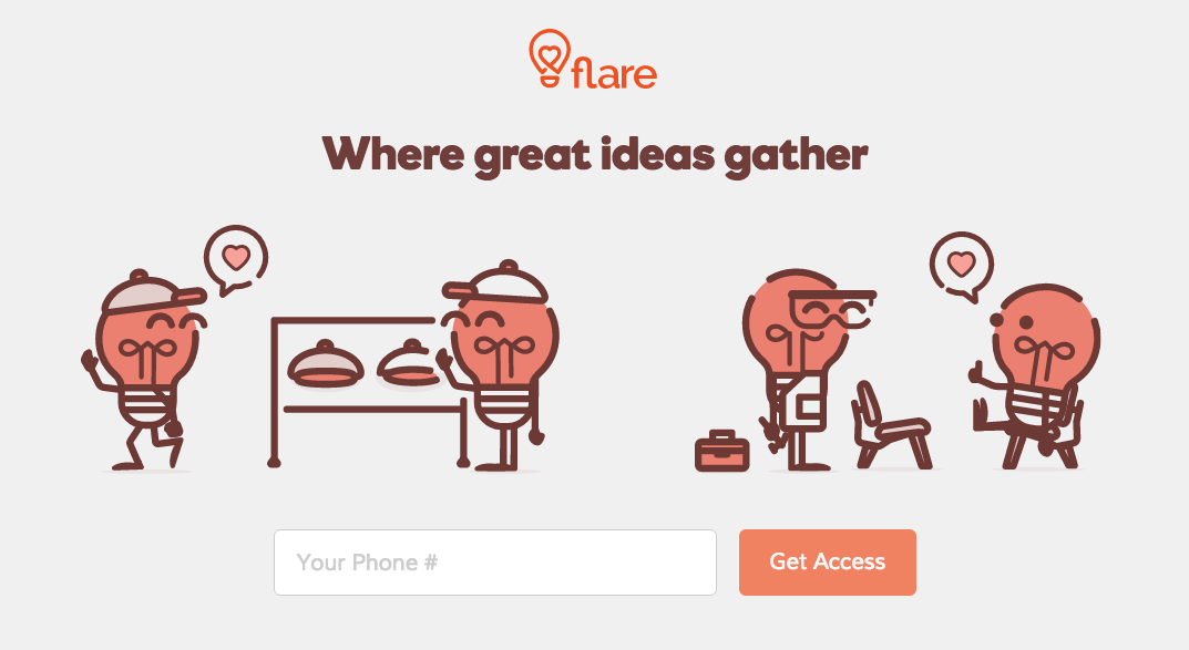 GoDaddy Flare - Where great ideas gather