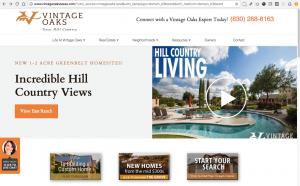 Vintage Oaks Texas Website - VintageOaksTexas.com