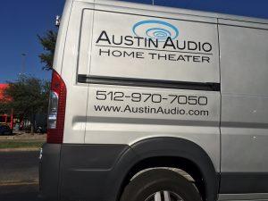 AudioAustin.com Van