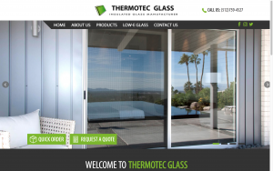 Thermotec Glass Website