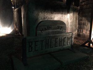 Main Street Bethlehem Wooden Sign