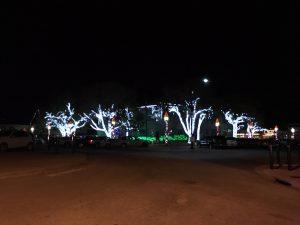 Christmas Downtown Burnet, Texas