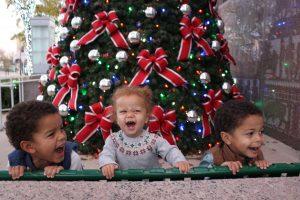 Brown Kids - 2017 Christmas in Burnet, Texas