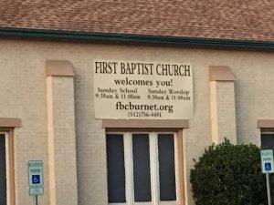 First Baptist Church Burnet - fbcburnet.org