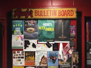 Rudy's Bulletin Board