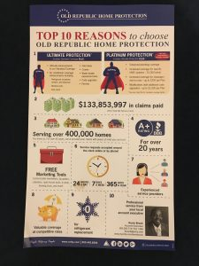 Top 10 Reasons to Choose Old Republic Home Protection