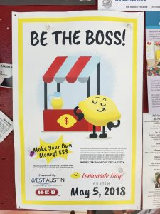 Be The Boss! Austin's Lemonade Day