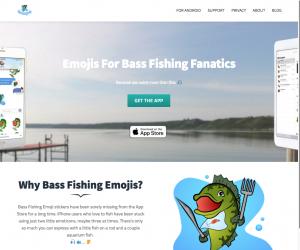 Emoji for Bass Fishing Fanatics