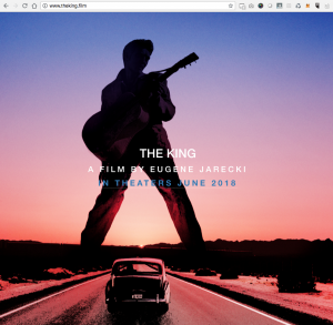 The King - The Movie - .film domain extension