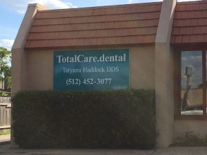 TotalCare.Dental Building Billboard