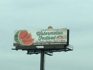Annual McDade Watermelon Festival