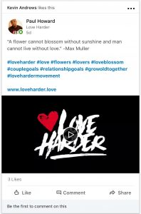 Paul Howard Design - LoveHarder.Love