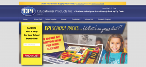 Educational Products Inc. Website
