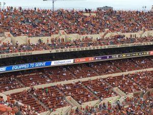EQDepot.com Banner - Darrell K Royal Stadium - Austin, Texas
