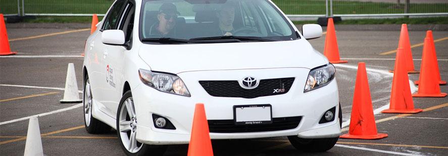 drivers ed cones