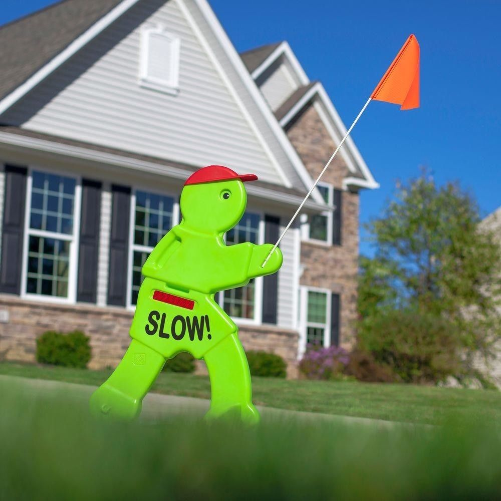Slow Down Kids Playing