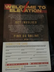 Welcome to Elevation Church