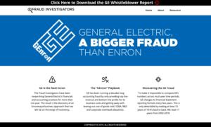 GEFraud.com - General Electric A Bigger Fraud Than Enron