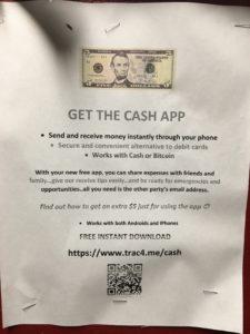 Get the cash app - trac4.me