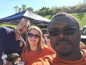 Tailgating - West Virginia vs Texas College Football Game