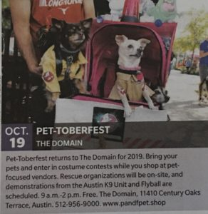 Oct 19 - Pet-toberfest