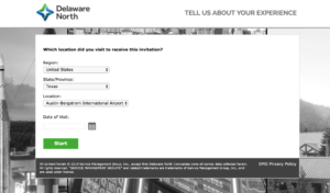 Delaware North Customer Survey