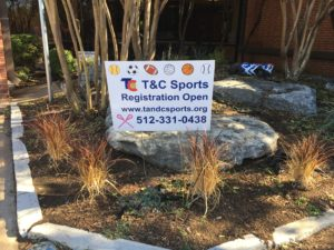 Town And Country Sports - Yard Sign of tandcsports.org