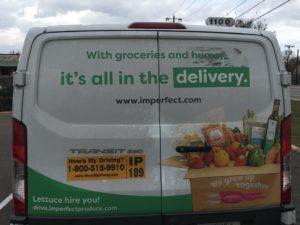 Imperfect Foods Delivery Van